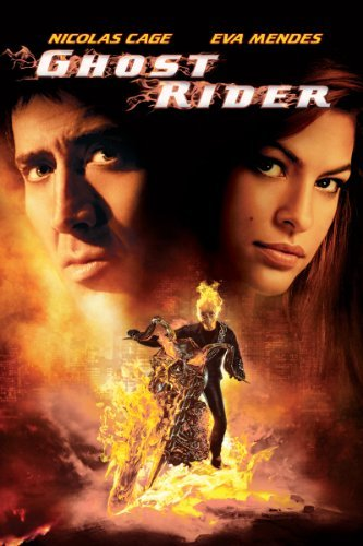 Ghost Rider the movie: not well-received by critics. Click to order from Amazon