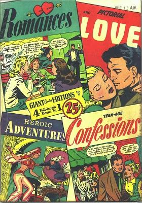 Giant Comics Edition #13: Very rare; Unique Matt Baker cover. Click for value