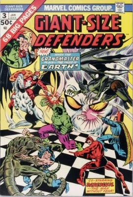 Origin and First Appearance, Korvac, Giant-Size Defenders #3, Marvel Comics, 1975. Click for value