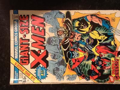 Giant Size X-Men #1 Value?