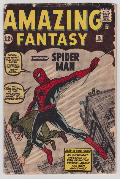Comic Book Grading For Beginners: The difference between a very fine and a fair to poor can be huge. Learn how to grade your own comic books.