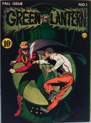 Green Lantern (1st Series) #1 (1941). A superb, old and rare comic!