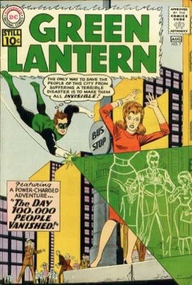 Green Lantern (vol. 2) #7: First Appearance of Sinestro, GL's Arch Enemy. Click for values