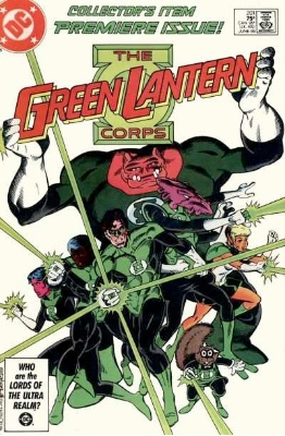 Origin and First Appearance, Kilowog, Green Lantern Corps # 201, DC Comics, 1986. Click for value