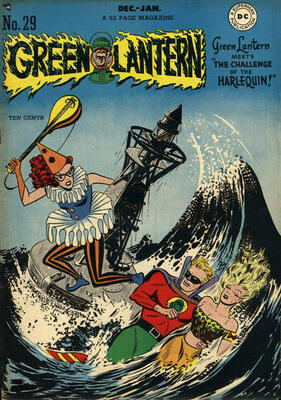 Origin and First Appearance, Black Hand, Green Lantern Vol 2, #29, DC Comics, 1964. Click for value