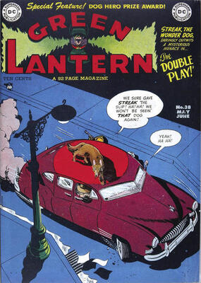 Origin and First Appearance, Goldface, Green Lantern #38, DC Comics, 1965. Click for value