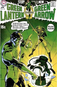 Green Lantern #76 first team up with Green Arrow