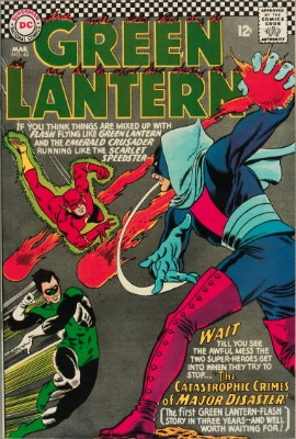 Origin and First Appearance, Major Disaster, Green Lantern (vol 2) # 43, DC Comics, 1966. Click for value
