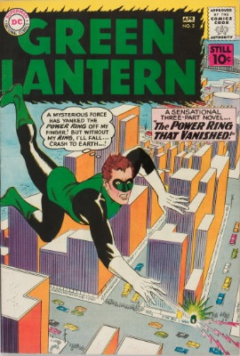 Origin and First Appearance, Hector Hammond, Green Lantern (vol. 2) #5, DC Comics, 1961. Click for values