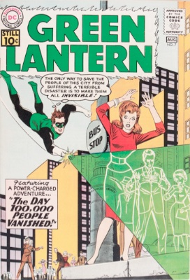 Origin and First Appearance, Sinestro, Green Lantern (vol. 2) #7, DC Comics, 1961. Click for value