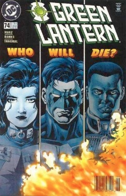 Origin and First Appearance, Grayven, Green Lantern (vol. 3) #74, DC Comics, 1996. Click for value