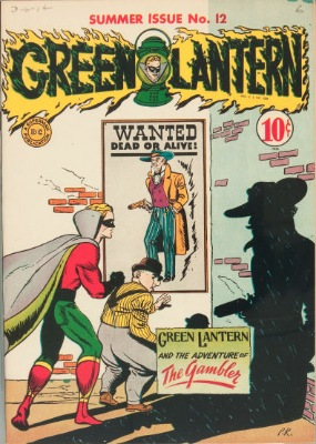 Origin and First Appearance, Gambler, Green Lantern #12, DC Comics, 1944. Click for value