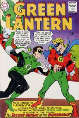 Origin and First Appearance, Kurrgo, Master of Planet X, Green Lantern (vol. 2) #40, DC Comics, 1965. Click for value