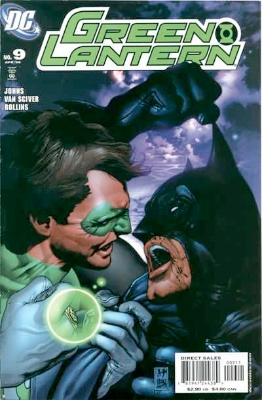 Origin and First Appearance, Tattooed Man, Green Lantern (vol 4) #9, DC Comics, 2006. Click for value