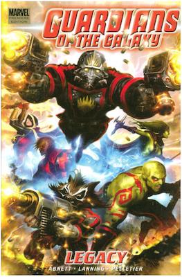 Guardians of the Galaxy #1 (2008); Adam Warlock in the Guardians of the Galaxy. Click for values.