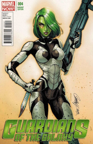 #95: Guardians of the Galaxy 4 Campbell Variant (2013). Click for values