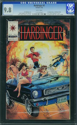 Owning a copy of Harbinger #1 from 1992 in CGC 9.8 shape with coupons intact is a good idea. Click to find yours!