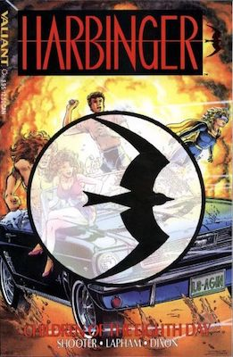 Harbinger #1 (1992) 1st Issue in Series; Has Coupons to Cut Out and Mail in (often missing). Click for value