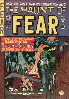 Haunt of Fear #15 by EC Comics. Click for current value