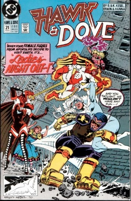 Origin and First Appearance, Chessure, Hawk and Dove Vol 3 #21, DC Comics, 1991. Click for value
