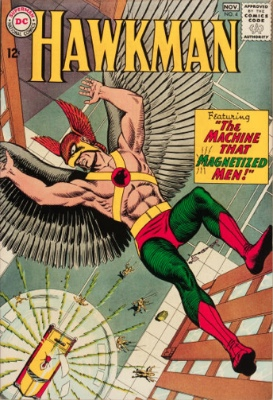 Origin and First Appearance, Zatanna, Hawkman #4, DC Comics, 1964. Click for value