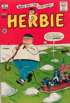Herbie Comic #1 from ACG. Click for values