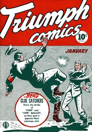 Triumph Adventures Comics #5