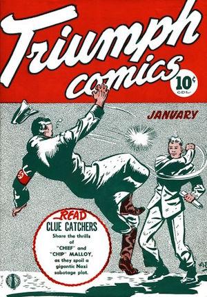 Triumph Adventures Comics #5