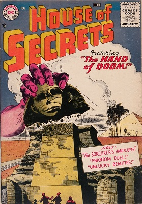 House of Secrets #1 is a very scarce early Silver Age horror/mystery comic. Click for values
