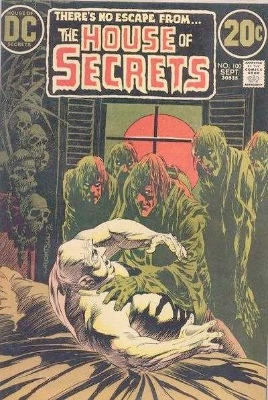 Click to see the value of the Bernie Wrightson cover-art for House of Secrets #100