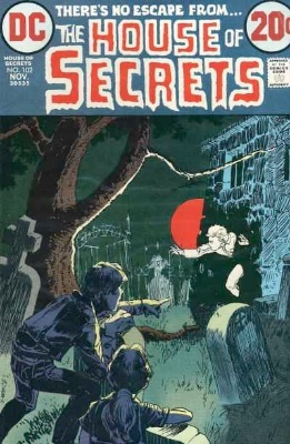 Click to see the value of the Michael Kaluta cover-art for House of Secrets #102