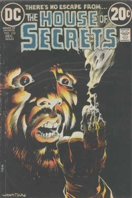 Click to see the value of the Bernie Wrightson cover-art for House of Secrets #103