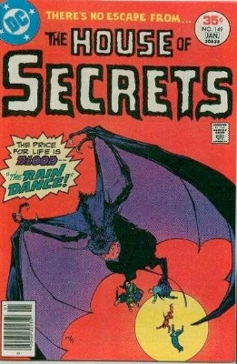 Click to see the value of the Michael Kaluta cover-art for House of Secrets #149