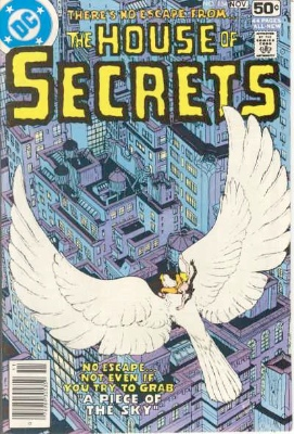Click to see the value of the Michael Kaluta cover-art for House of Secrets #154