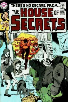 Click to see the value of the Neal Adams cover-art for House of Secrets #84