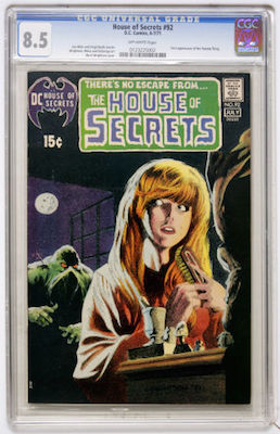 House of Secrets #92 is expensive in high grade. It's not worth buying below VF+. Click to get your CGC 8.5 or higher copy