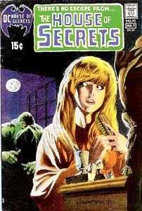 House of Secrets #92: first appearance Swamp Thing