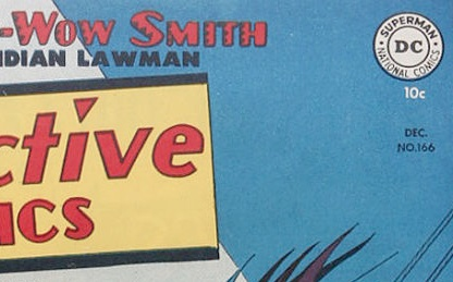 How to identify DC Comics: Sometimes the month did not appear in a box. This background is quite easy to read...