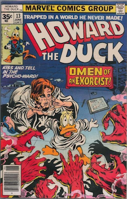 KEY ISSUE! Howard the Duck #13 Marvel 35 Cent Price Variants. First Appearance of KISS in Comic Books