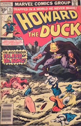 Howard the Duck #15 Marvel 35 Cent Price Variant