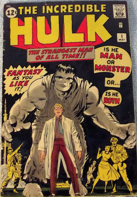Incredible Hulk run of #1 through #6 in GD-VG. We paid $9,750 for the run