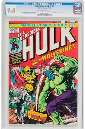 A high-grade Incredible Hulk #181 is always desirable, but is your $5,000 better spent with a slightly lesser example AND a copy of Incredible Hulk #180?
