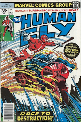 Human Fly #2 Marvel 35 Cent Price Variants Edition