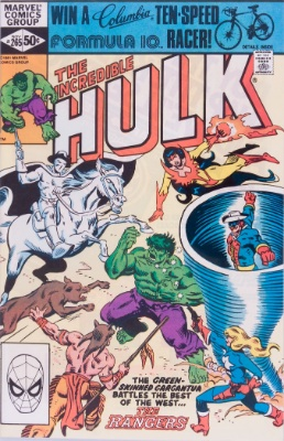 Origin and First Appearance, Firebird. Incredible Hulk #265, Marvel Comics, 1981. Click for values