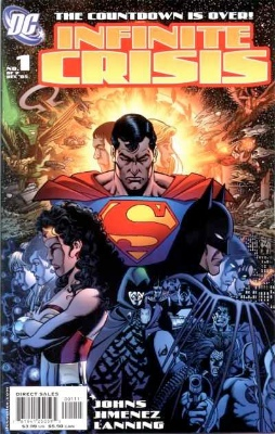 Infinite Crisis #1. Click for values