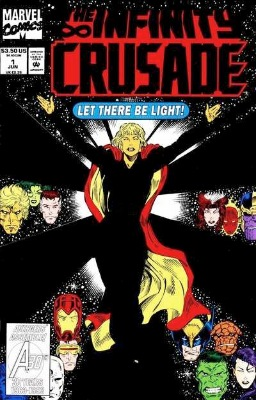 Origin and First Appearance, Goddess, Infinity Crusade #1, Marvel Comics, 1993. Click for value