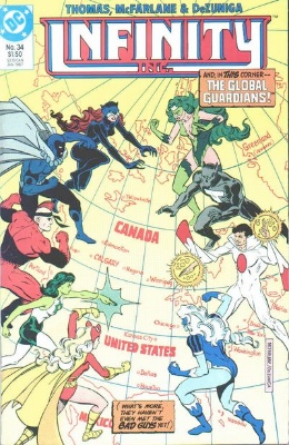 Origin and First Appearance, Artemis Crock, Infinity Inc. #34, DC Comics, 1987. Click for value