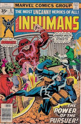 Inhumans #11 Marvel 35 Cent Price Variants