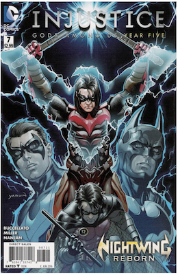 Injustice: Gods Among Us: Year Five #7 (2016). Click for values.