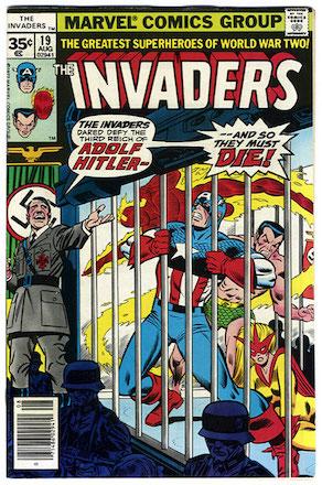 Invaders #19 Marvel 35 Cent Variant